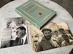 SIGNED by CHE GUEVARA personal book 1962: JEAN PAUL SARTRE