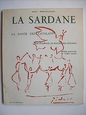 La Sardane, la danse des Catalans. Son: PEPRATX-SAISSET Henry