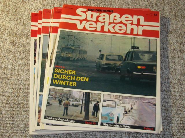 Der deutsche Straßenverkehr (Jahrgang 1986),: transpress, VEB Verlag
