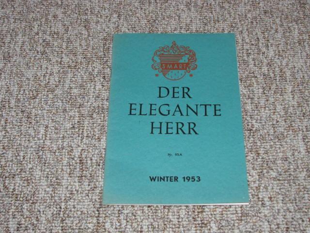 Der elegante Herr. Winter 1953 (Nr. 95 A). Smart.,