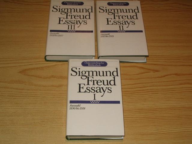 sigmund freud evolution essays