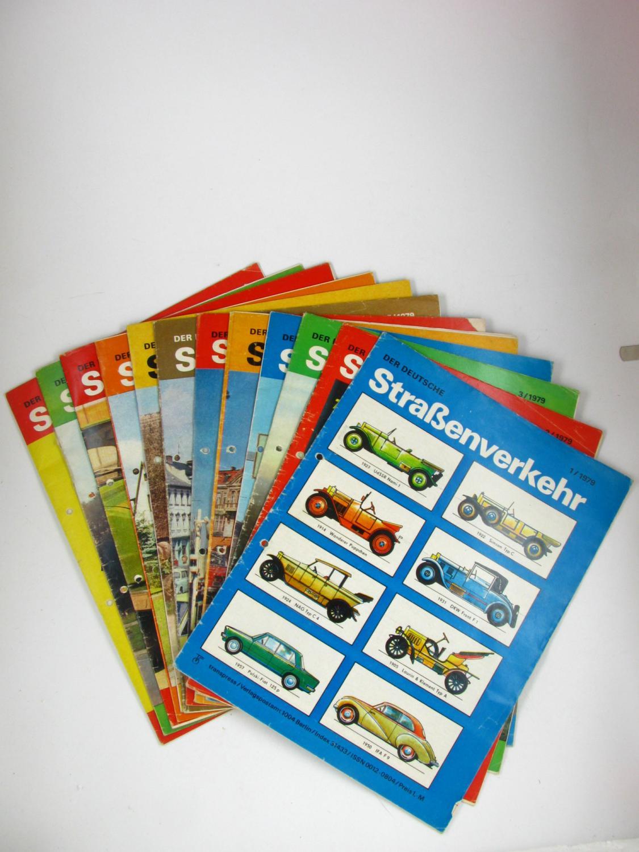 Der deutsche Straßenverkehr (Jahrgang 1979),: transpress, VEB Verlag