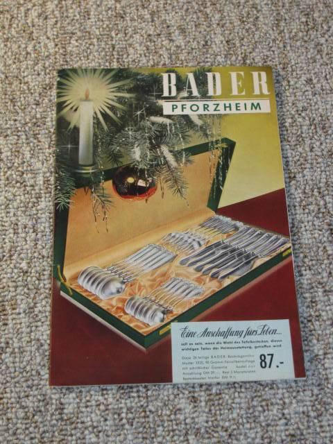 d7e46fe8ac bader katalog - ZVAB