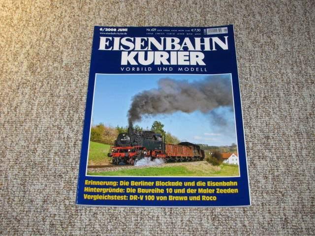 Eisenbahn-Kurier. Vorbild und Modell (Nr. 6/2008),