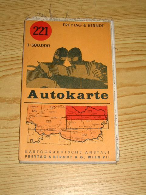 Autokarte Österreich,