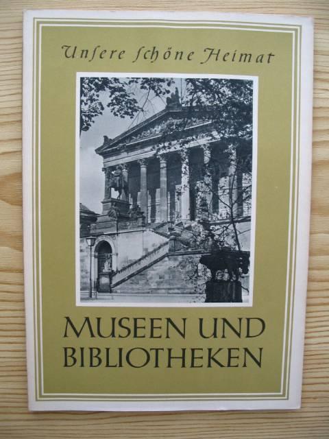 Museen und Bibliotheken,: Pohle, Ulrich und