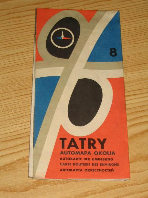 Autokarte der Umgebung - Tatry,