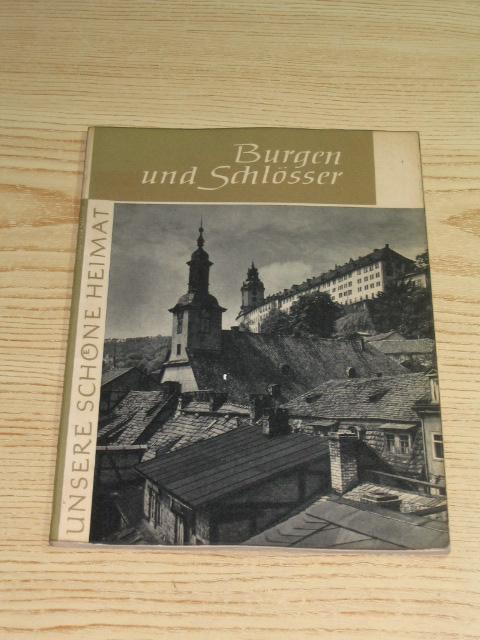 Burgen und Schlösser,: Pohle, Ulrich: