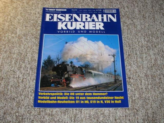 Eisenbahn-Kurier. Vorbild und Modell (Nr. 2/2007),