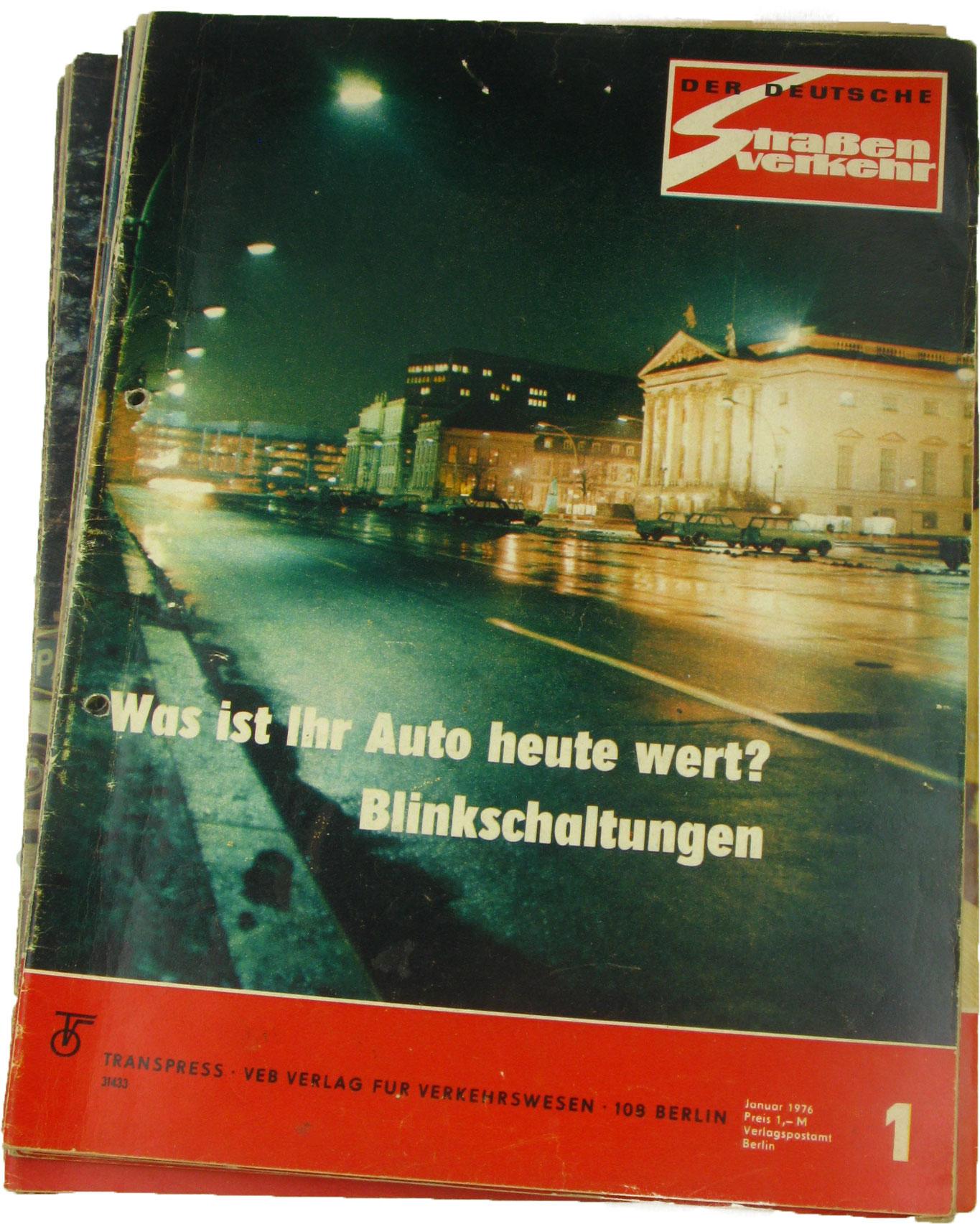 Der deutsche Straßenverkehr (Jahrgang 1976),: transpress, VEB Verlag