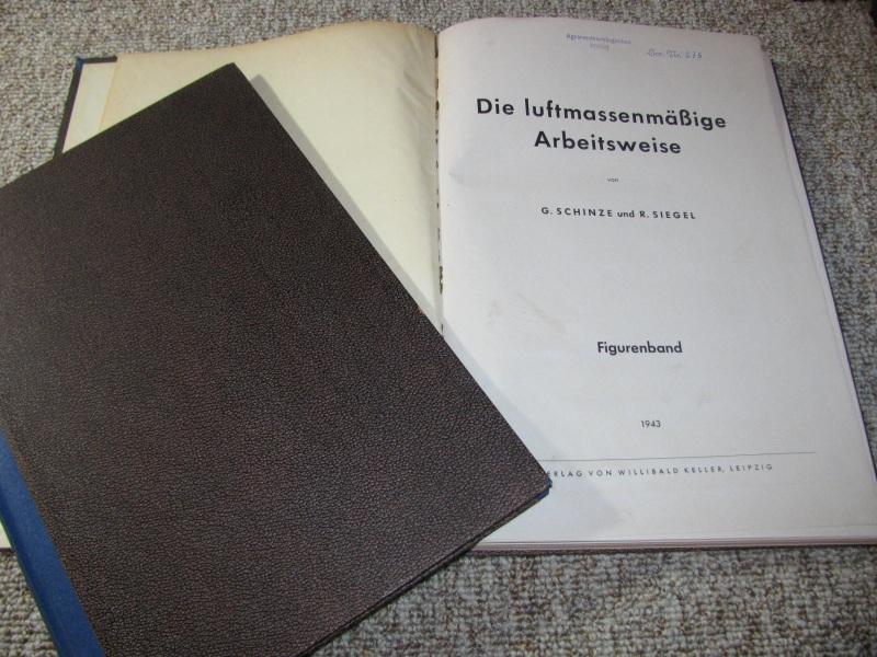 Die luftmassenmäßige Arbeitsweise (Textband und Figurenband),: Schinze, G. und