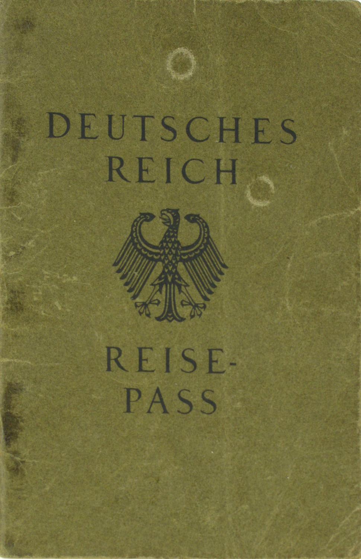Reisepass Deutsches Reich (1),