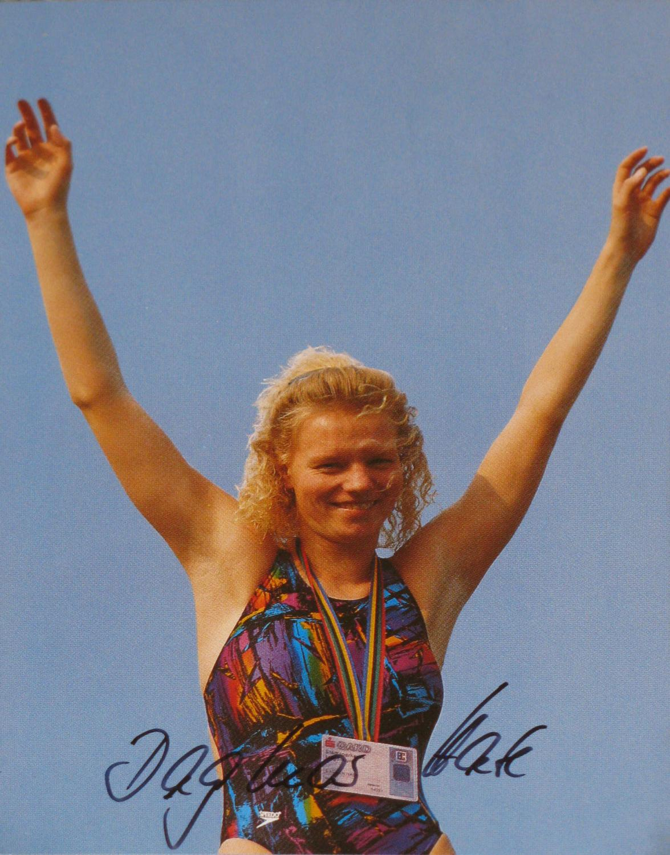 AK Dagmar Hase. Unsere Olympiasiegerin von Barcelona