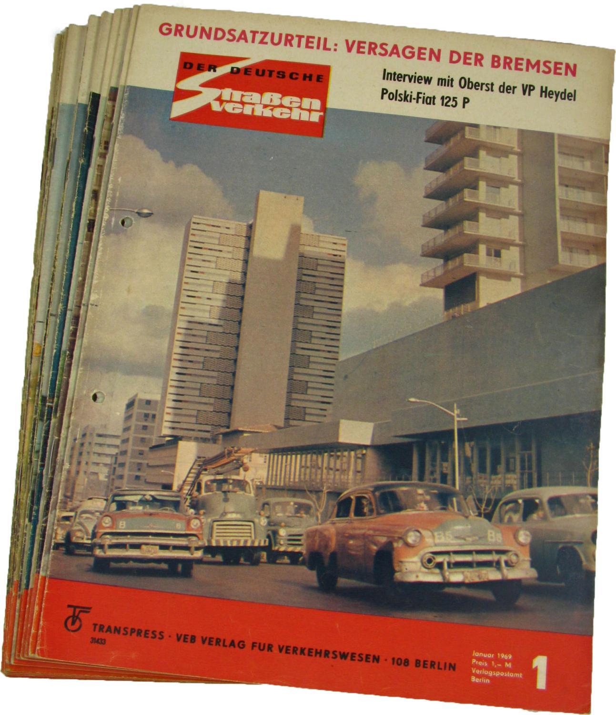 Der deutsche Straßenverkehr (Jahrgang 1966),