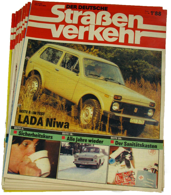 Der deutsche Straßenverkehr (Jahrgang 1988),