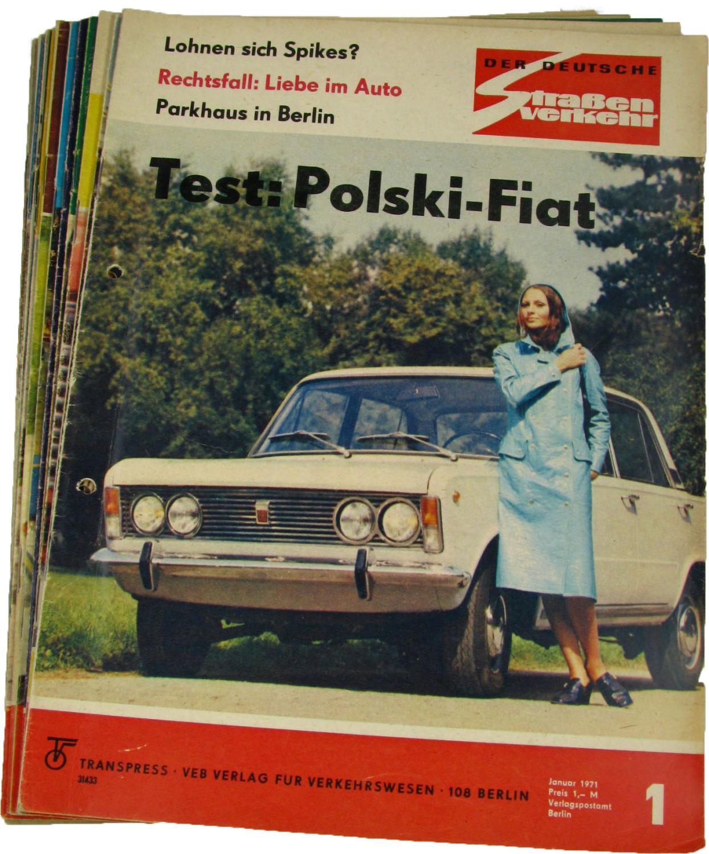 Der deutsche Straßenverkehr (Jahrgang 1968),