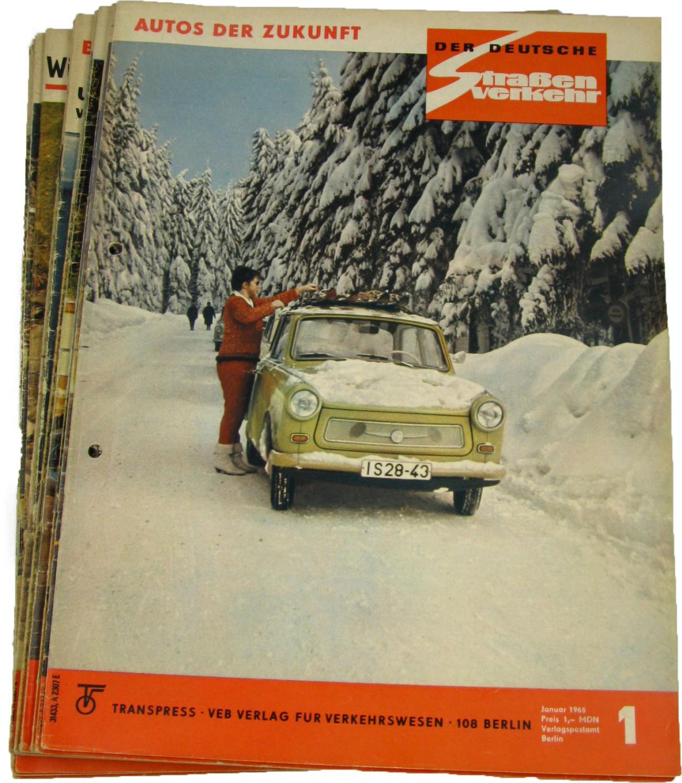 Der deutsche Straßenverkehr (Jahrgang 1971),