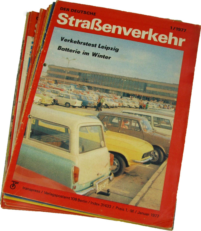Der deutsche Straßenverkehr (Jahrgang 1977),