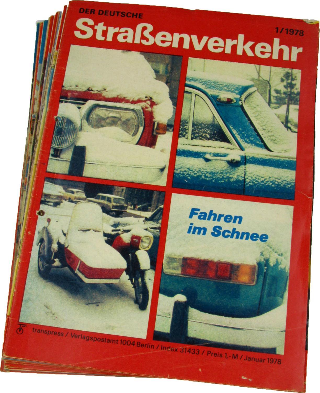 Der deutsche Straßenverkehr (Jahrgang 1978),