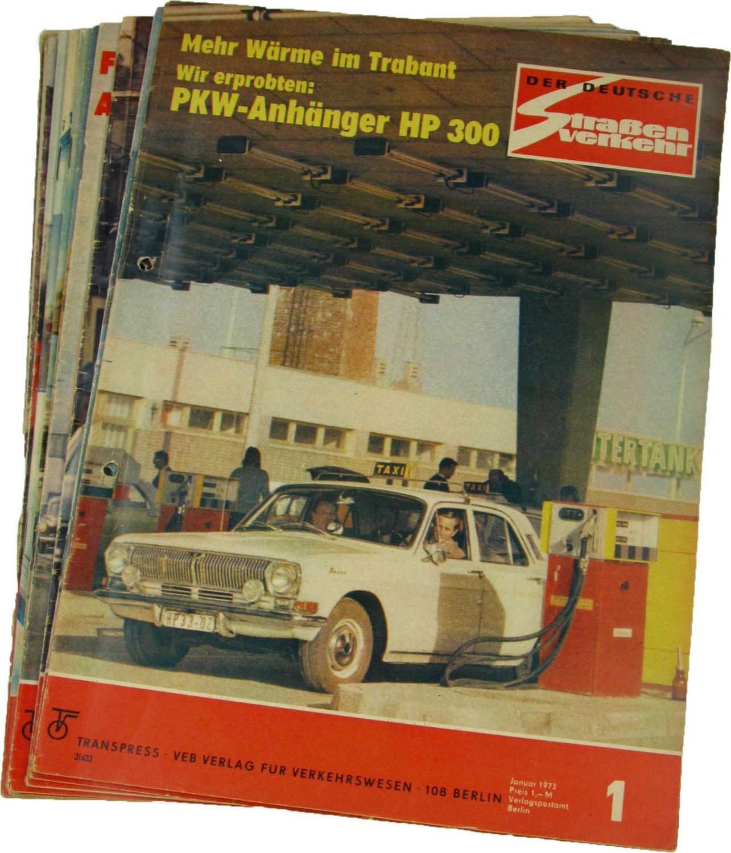 Der deutsche Straßenverkehr (Jahrgang 1973),