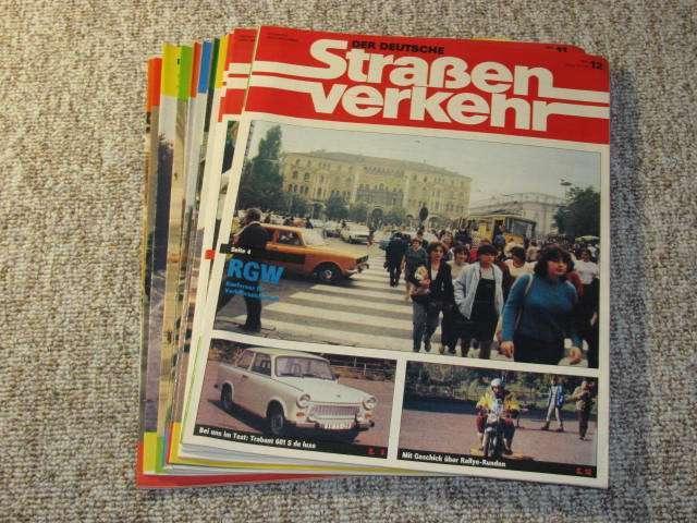 Der deutsche Straßenverkehr (Jahrgang 1984),