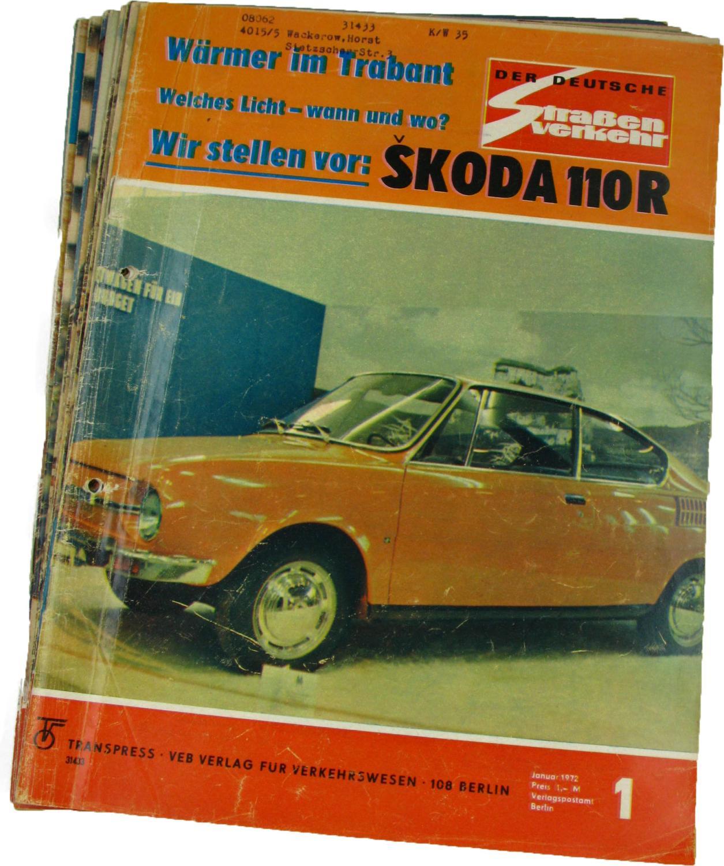 Der deutsche Straßenverkehr (Jahrgang 1972),