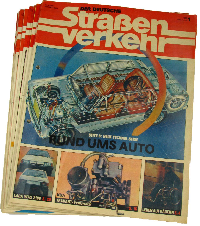 Der deutsche Straßenverkehr (Jahrgang 1985),