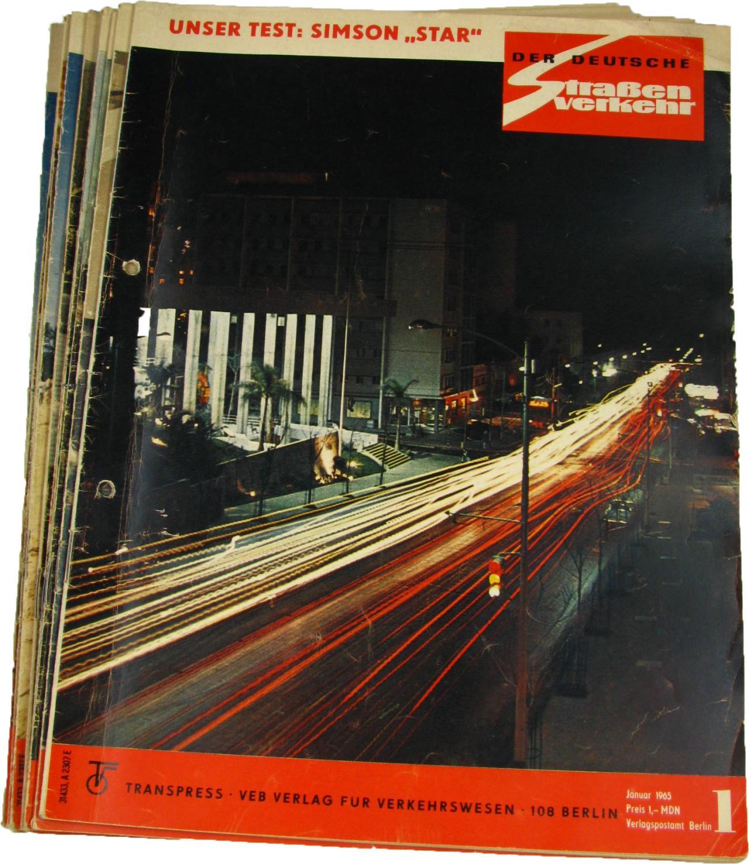 Der deutsche Straßenverkehr (Jahrgang 1970),