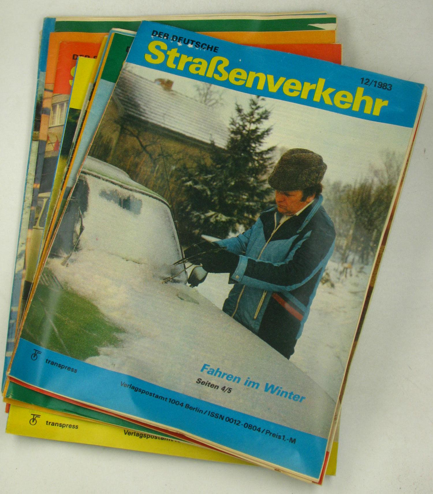 Der deutsche Straßenverkehr (Jahrgang 1983),