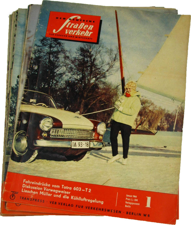 Der deutsche Straßenverkehr (Jahrgang 1969),