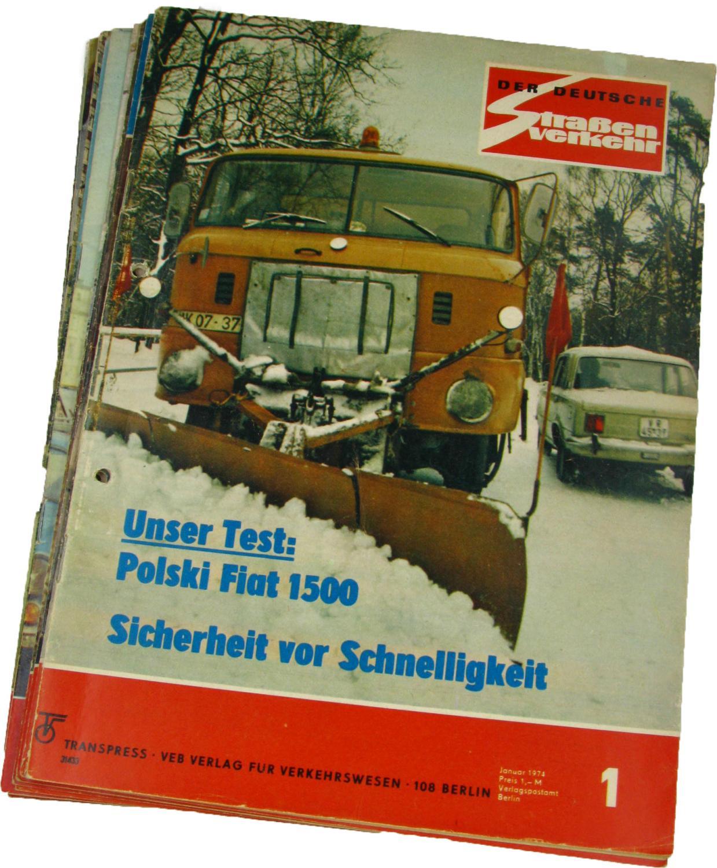 Der deutsche Straßenverkehr (Jahrgang 1974),