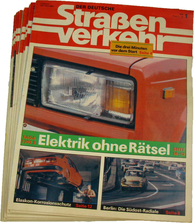 Der deutsche Straßenverkehr (Jahrgang 1986),