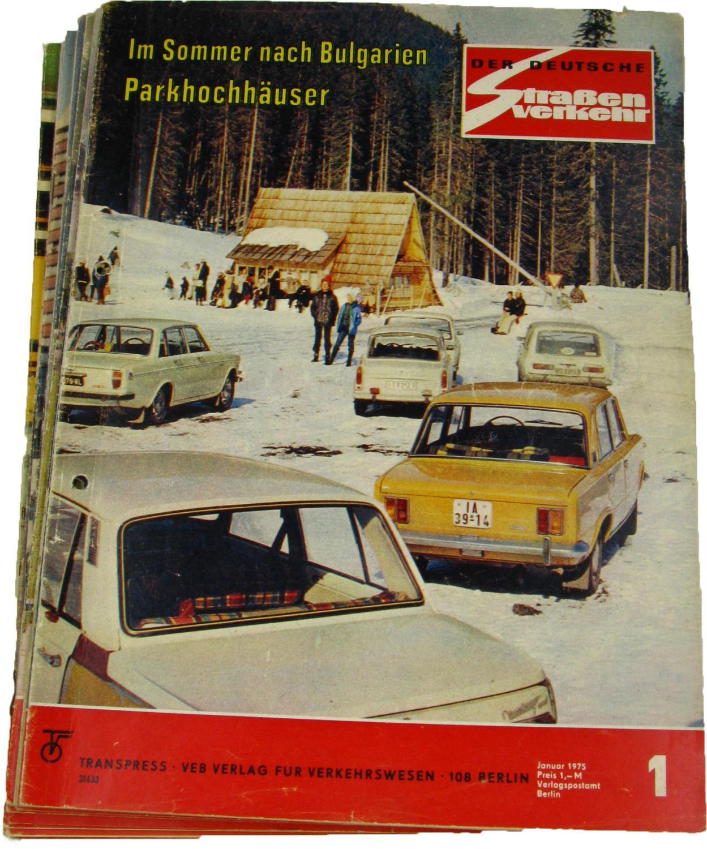 Der deutsche Straßenverkehr (Jahrgang 1975),