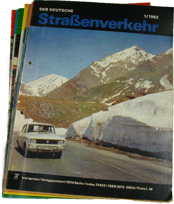 Der deutsche Straßenverkehr (Jahrgang 1982),
