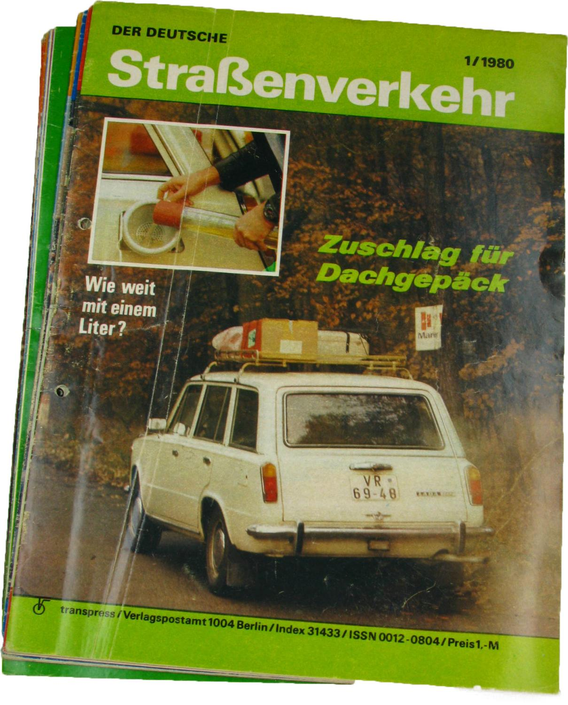 Der deutsche Straßenverkehr (Jahrgang 1980),