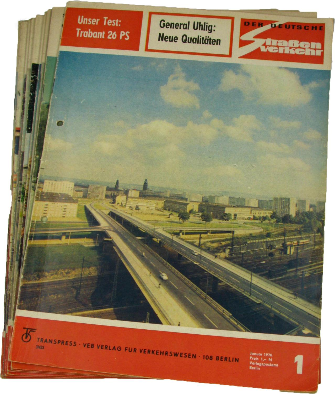 Der deutsche Straßenverkehr (Jahrgang 1967),