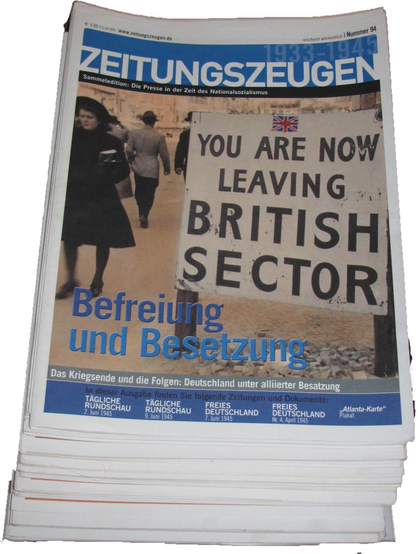 Sammeledition Zeitungszeugen 1-96 (außer 1, 2, 4,: McGee, Peter (Hrsg.):