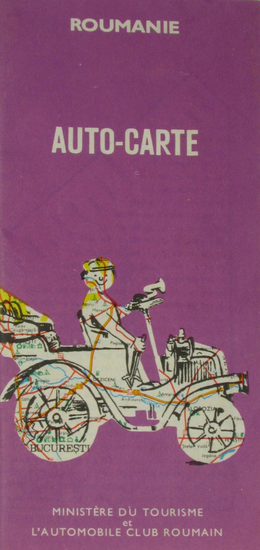 Autokarte Rumänien,