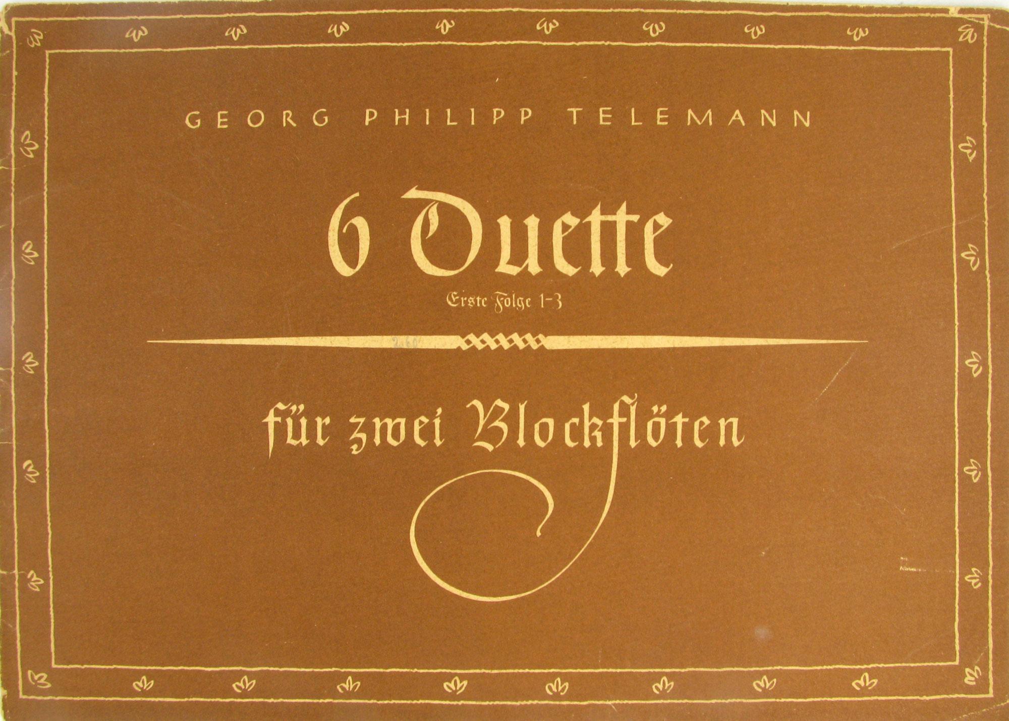 Sechs Duette für zwei Höffer v Winterfeld Linde
