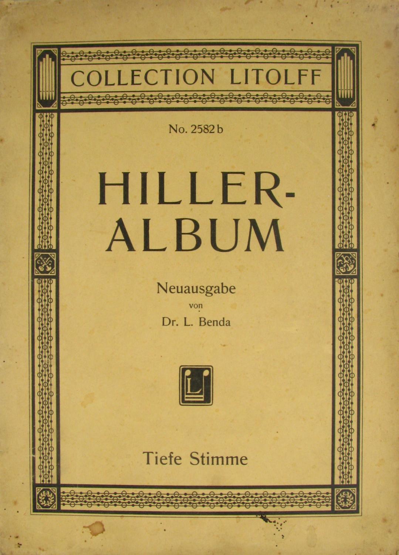 Franz Abt Ausgewählte Lieder Abt Album. Band 1 Mezzo-sopran Oder Bariton