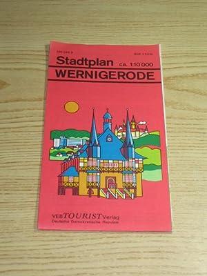 Stadtplan Wernigerode,