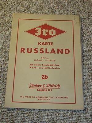 JRO-Karte Russland (Nr. 810),: Kremling, Carl (Bearbeitung):