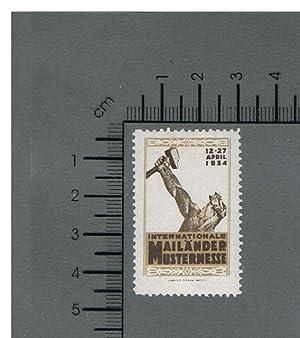 Internationale Mailänder Mustermesse 12.-27. April 1934,