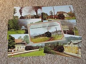 AK / Postkarten Schmalspurbahn Zittau - Oybin/Jonsdorf,: Heinrich und Altmann: