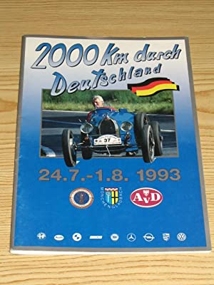2000 km durch Deutschland 24.7. - 1.8.1993,