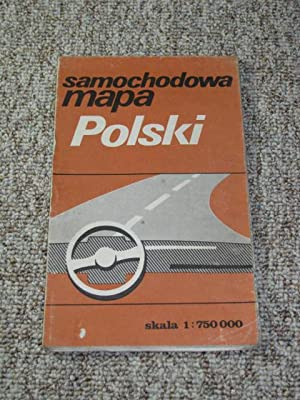 Autokarte Polen / Samochodowa Mapa Polski,