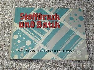 Stoffdruck Angebotsfoto Abebooks