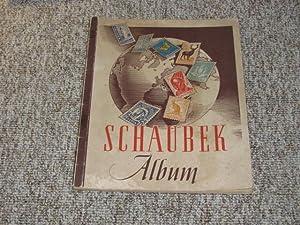 Schaubek Briefmarkenalbum Nr. 135 Europa / Übersee,