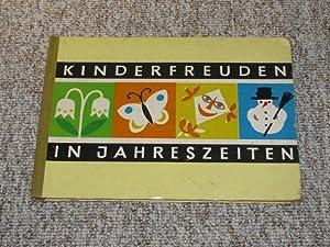 Kinderfreuden in Jahreszeiten,: Thamm, Joachim (Bilder)