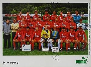 AK Mannschaftskarte SC Freiburg,